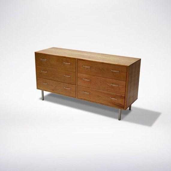 Cherry Mid Century Modern Dresser