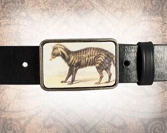 Belt Buckle, Leather Insert Belt Buckle, Buckle - The Civet Cat