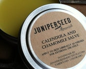 Calendula and Chamomile Healing Salve - Packaged in Glass