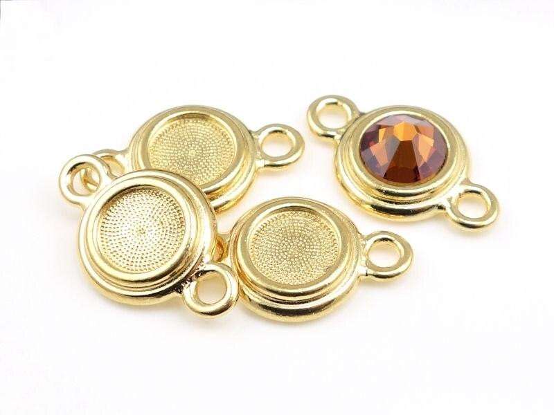 Rhinestone holder for personalized birthstone jewelry for Just my style personalized jewelry studio