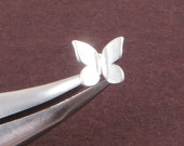 Sterling Silver Butterfly Earrings Nature Related Stud Earrings Cute 3d Butterfly for Young Lady