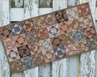 Quilted Triple Box Table Runner (EDTR48)
