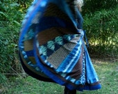 Special order for Hillary, Long Panel Bohemian Patchwork Skirt