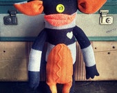 """Sweater Monster """"Oogley"""" - One Of A Kind / Eco Friendly / Reclaimed / Upcycled Stuffed Animal"""