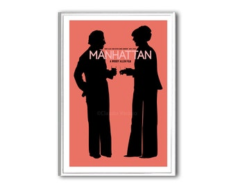 Movie poster Manhattan print in various sizes