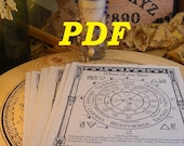 Wheel of the Year PDF -- Book of Shadows -- BOS page