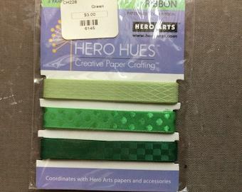 """Hero Arts Ribbon """"Foliage"""""""