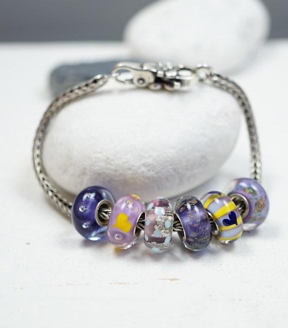 charm bracelet fits troll charm by melaniemoertel