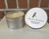 Organic Soy Candle Lotus Blossom