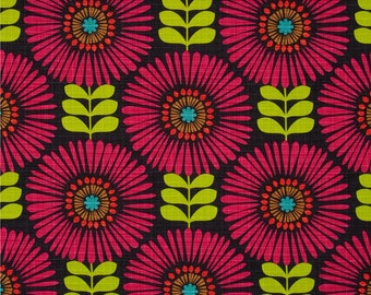 Fringe Flowers in Magenta by Michael Miller Fabrics 100% Quilters Cotton Available in Fat Quarter, Half Yard, Yard