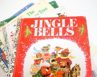 Christmas book set - Little Golden books - set of 5