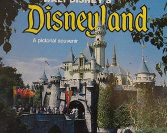 Vintage Walt Disney's Disneyland A Pictorial Souvenir Walt Disney World Program Collectible Walt Disney Book