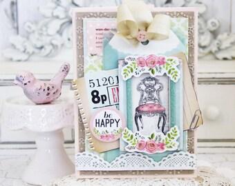 BE Happy...Handmade Card
