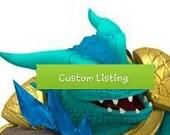 Crochet Crocodile Monster Hat