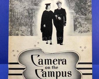 St Xavier College for Women 1942 Yearbook Camera on the Campus Chicago Nursing School 13589
