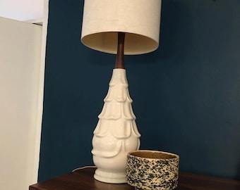 Danish Style white petal lamp
