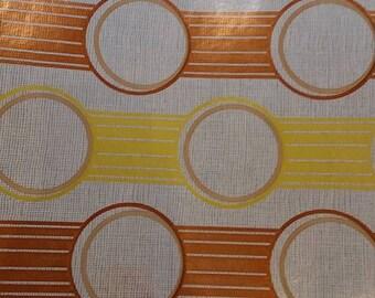 Sale - Metallic copper mod wallpaper - full roll