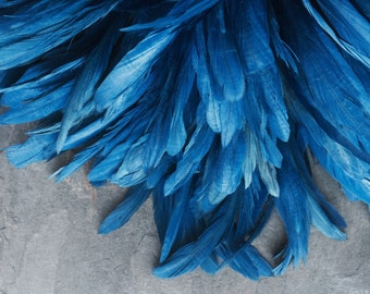 RUSTICA COQUE TAIL Feathers , Chagall Blue   / 178