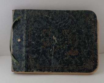 School memory book Autograph book 1930's St Thomas Ontario Canada