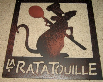 Ratatouille sign