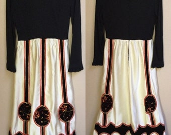 Queen of Hearts, Hollywood Maxi Dress, Robinsons May Dress 60's