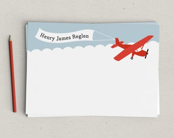 Airplane Personalized Notes