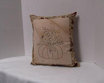 Pumpkin Basket Pillow