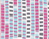 Moda Fabrics Sherbet Pips Scarf Stripe in Pink Lemonade - Half Yard