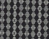 Free Spirit Fabrics Parson Gray Curious Nature Empire Mark in Tailcoat - Half Yard