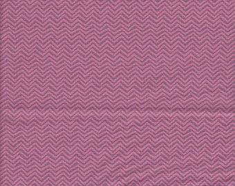 Dear Stella Designs Piper Zig Zag in Punch - Half Yard