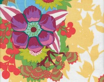 Free Spirit Fabrics Anna Maria Horner Hand Drawn Garden Centerpiece in Sunlight - Half Yard