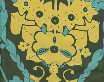 Free Spirit Fabrics Anna Maria Horner Hand Drawn Garden Nouveau in Deeps - Half Yard
