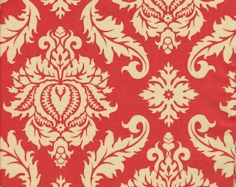Free Spirit Fabrics Joel Dewberry Aviary 2 Damask in Saffron - Half Yard