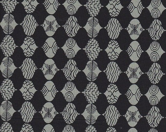 Free Spirit Fabrics Parson Gray Curious Nature Empire Mark in Tailcoat - Half Yard