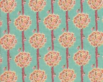 Moda Fabrics Botany Floral Bouquet Stripe in Ripple - Half Yard