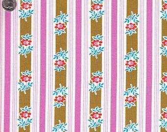 Free Spirit Fabrics Jennifer Paganelli Poodle Siobahn Stripe in Pink - Half Yard