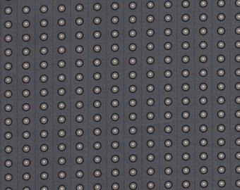 In The Beginning Fabrics Dogma Bubbles in Gray -  Half Yard