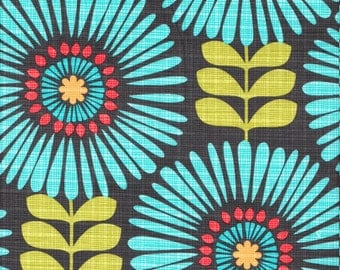 Michael Miller Fringe Flowers in Luna - Half Yard