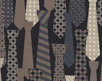 Michael Miller Mod Guys Ties in Neutral - End of Bolt - Last 32 Inches