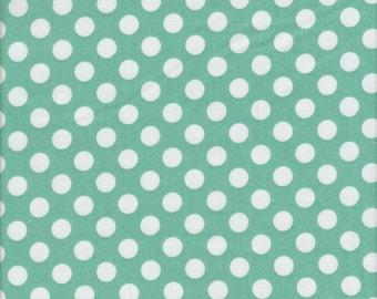 Makower UK Polka Dot in Duck Egg - Half Yard