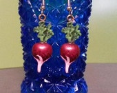 Super Short Time SALE Luna Lovegood Inspired Radish Earrings