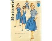 Vintage Sewing Pattern 60's Wrap-A-Round Skirt, Wrap Jumper, Blouse and Shorts / Butterick 2745 / Size 12 or 14 / UNCUT FF