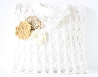Crochet shoppingbag Annette