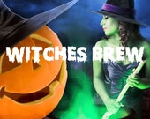 Witches Brew Fragrance - Halloween Scent - You Choose: Perfume Spray - Body Spray - Roll On - Massage Oil - Sample Oil - Dry Oil Spray