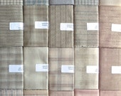 Japanese Taupe fabrics - 20 fat quarters RESERVED for Linette
