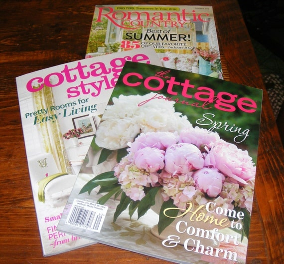 Reserve for renee romantic country summer 2016 the cottage Spring cottage magazine