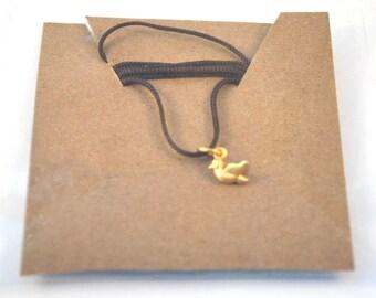 Dainty Charm Necklace/Bird Necklace
