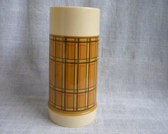 Vintage Aladdin Best Buy Thermos, Plaid thermos, Picnic Lunch, Tailgate