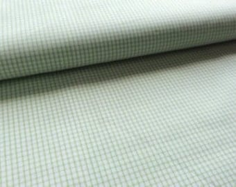 Pastel Classics - green gingham - Pima Cotton from Spechler-Vogel Textiles:  1/2 yard