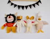 Where the Wild Things Are Wall Hanging // Whimsical, Magical and Unique Children's Decor